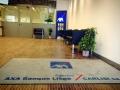 tapis personnalisé banque AXA