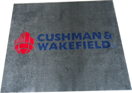 Tapis personnalisé Cushman & Wakefield