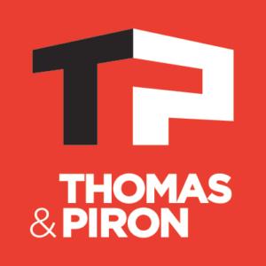 Tapis d'entrée personnalisé Thomas & Piron