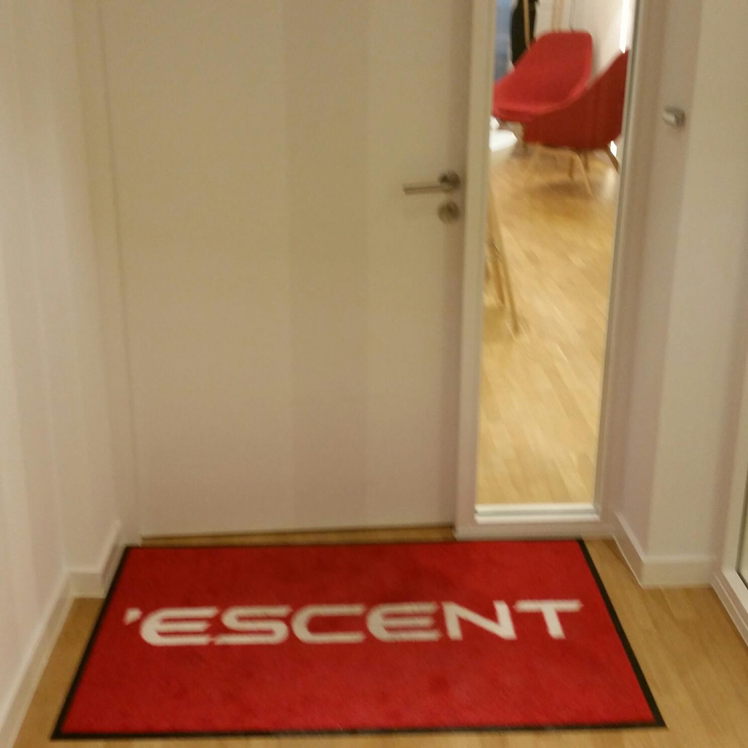 Tapis personnalisé pour Escent