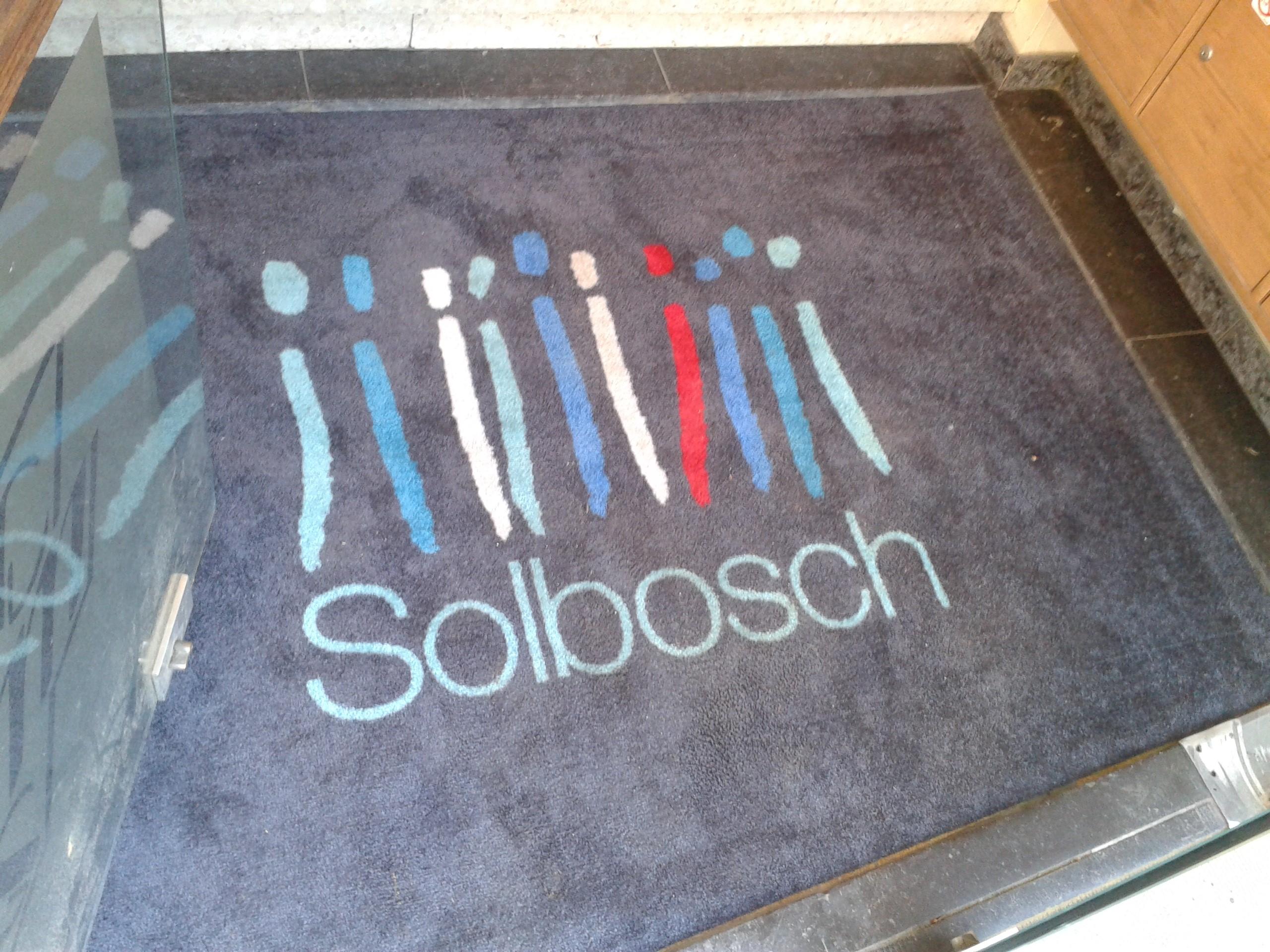 Tapis d entrée personnalisé Solbosch Bruxelles