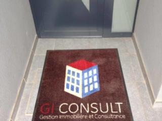 Tapis personnalisé agence immobilière GI Consult