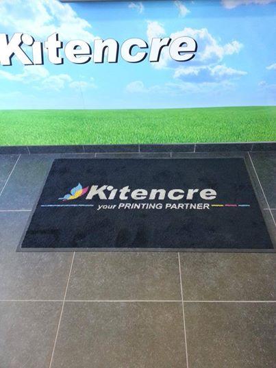 Tapis personnalisé KITENCRE Charleroi