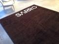 tapis anti poussière personnalisé